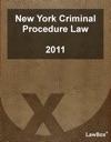 New York Criminal Procedure Law 2011