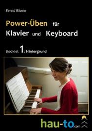 POWER-ÜBEN FüR KLAVIER UND KEYBOARD, BOOKLET 1