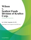 Wilson V Sealtest Foods Division Of Kraftco Corp