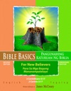 Bible Basics For New Believers - Tagalog And English Languages