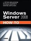 Windows Server 2008 How-To 1e