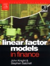 Linear Factor Models In Finance