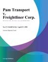 Pam Transport V Freightliner Corp