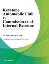 Keystone Automobile Club V Commissioner Of Internal Revenue
