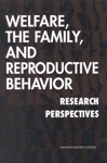Welfare The Family And Reproductive Behavior