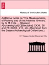 Additional Notes On The Measurements Of Ptolemy And Of The Antonine Itinerary By G M Hills  Sussex Archological Collections XXXI 58 And 78 XXXII 215 Etc Reprinted From The Sussex Archological Collections