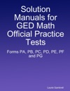 Solution Manuals For GED Math Official Practice Tests