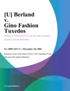 U Berland V Gino Fashion Tuxedos