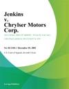 Jenkins V Chrylser Motors Corp