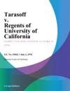 Tarasoff V Regents Of University Of California
