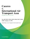 Caceres V International Air Transport Assn