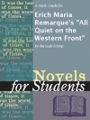 A Study Guide For Erich Maria Remarques All Quiet On The Western Front