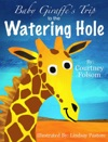 Baby Giraffes Trip To The Watering Hole