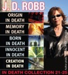 JD Robb IN DEATH COLLECTION Books 21-25