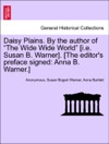 Daisy Plains By The Author Of The Wide Wide World Ie Susan B Warner The Editors Preface Signed Anna B Warner