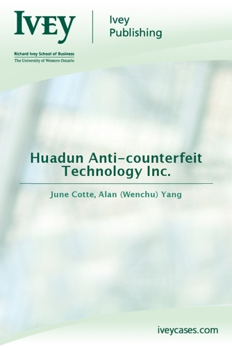 Huadun Anti-counterfeit Technology Inc
