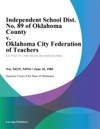 Independent School Dist No 89 Of Oklahoma County V Oklahoma City Federation Of Teachers