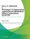 Steve A Shelestak V Workmens Compensation Appeal Board Bethlehem Mines Corporation
