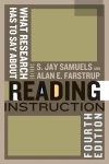 What Research Has To Say About Reading Instruction Fourth Edition