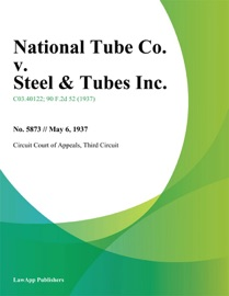 NATIONAL TUBE CO. V. STEEL & TUBES INC.