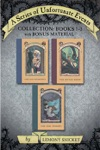A Series Of Unfortunate Events Collection Books 1-3 With Bonus Material