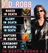 J D Robb In Death Collection Books 1-5
