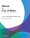Dineen V City Of Butte