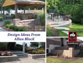 Design Ideas from Allan Block Retaining Walls