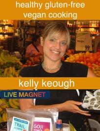 Healthy Gluten-Free Vegan Cooking - Kelly Keough Book