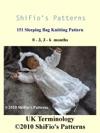 151 Knitted Sleeping Bag Pattern 151