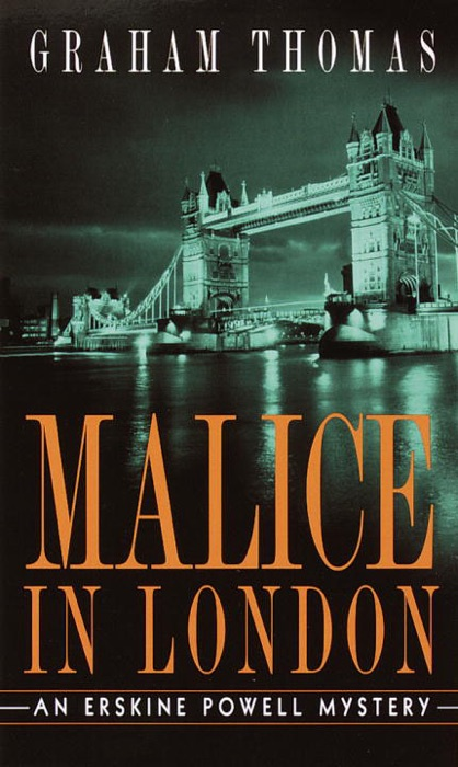Malice in London Graham Thomas Book