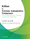 Killian V Yorozu Automotive Tennessee