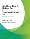 Stockham Pipe  Fittings Co V Ohio Steel Foundry Co