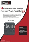 How To Plan And Manage Your New Years Resolutions