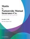 Matits V Nationwide Mutual Insurance Co