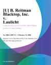 U B Reitman Blacktop Inc V Laulicht