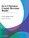 In Re Cherokee County Revenue Bonds