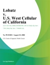 Lobatz V US West Cellular Of California