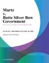 Martz V Butte Silver Bow Government