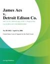 James Acs V Detroit Edison Co
