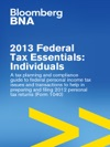 2013 Federal Tax Essentials Individuals