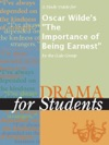A Study Guide For Oscar Wildes The Importance Of Being Earnest