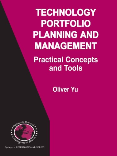 Technology Portfolio Planning and Management