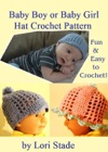 Precious Baby Boy And Girl Hats Crochet Pattern