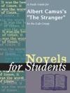 A Study Guide For Albert Camuss The Stranger