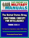 21st Century US Military Manuals The United States Army Functional Concept For Intelligence - TRADOC 525-2-1 Full-Spectrum Operations Cyber WMD Entry Professional Format Series