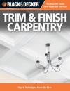 Black  Decker Trim  Finish Carpentry
