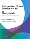 Independent School District No 89 V Mcreynolds