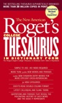 New American Rogets College Thesaurus In Dictionary Form Revised Updated