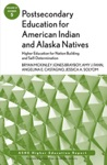 Postsecondary Education For American Indian And Alaska Natives Higher Education For Nation Building And Self-Determination
